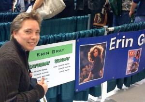 Amy Spotted at Emerald City Comic Con 2010