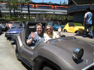 Amy and Laura Spotted on Autopia